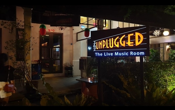 Unplugged dempsey hill Singapore