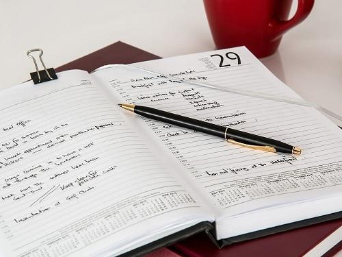 advance schedule small