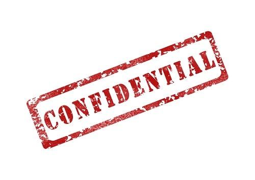discreet and confidential